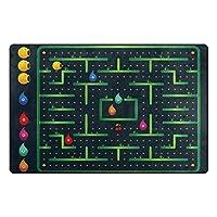 Orediy Soft Rugs Monster Maze Game Lightweight Area Rugs Kids Playing Floor Mat Non Slip Doormat Nursery Rug for Living Room Bedroom