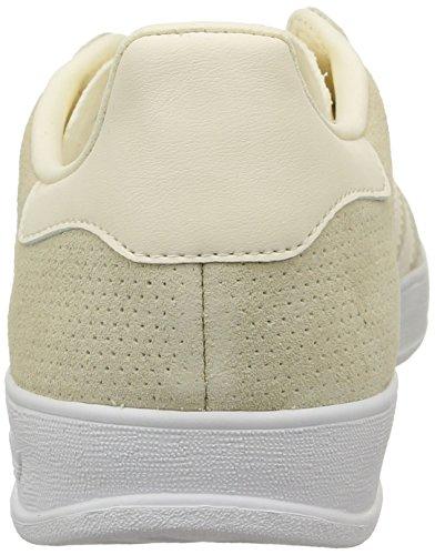 adidas Gazelle Indoor, Baskets homme Blanc (Cream White/Cream White/White)