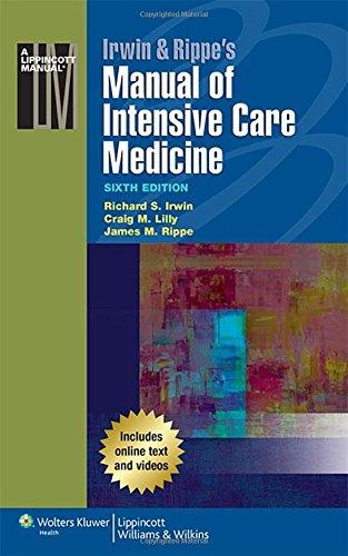 Irwin & Rippe's Manual of Intensive Care Medicine por Richard S. Irwin