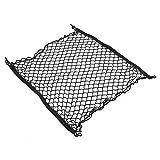 Qiilu Auto Boot String Tasche Elastische Nylon 70 * 70 cm Auto Hinten Kofferraum Mesh Storage Organizer Net