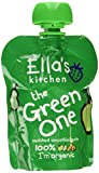 Ella's Kitchen The Green One Organic Smoothie Fruits 90 g (Pack of 12)
