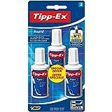 Tipp-Ex Flacon Rapid Correcteur Blister de 3