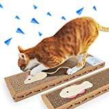 #8: Kitten Scratching Post Cat Scratcher Handmade Interactive Toys for Cat Training Pet Cat Toys (Set of 2)