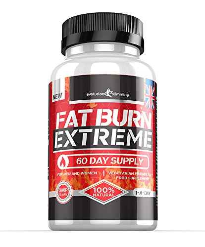 Fat Burn Extreme Weight Loss Diet Pills (60 Capsules) 1-A-Day 2 Month Supply