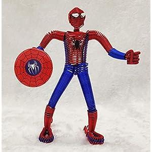 BC Worldwide Ltd Handgemachte Aluminiumdraht Handwerk Modell Spider Man Superheld Geburtstagsgeschenk, Jubiläum…