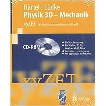 Physik 3D, Mechanik, Netzwerkversion, 1 CD-ROM xyZET, Ein Simulationsprogamm zur Physik. Für Windows 95/98/NT 4.0