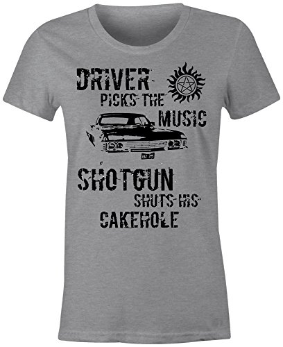6TN Ladies Fitted Winchester Driver T Shirt