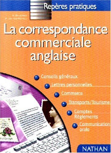 La correspondance commerciale anglaise par Dominique Daugeras, Patricia Janiaud-Powell