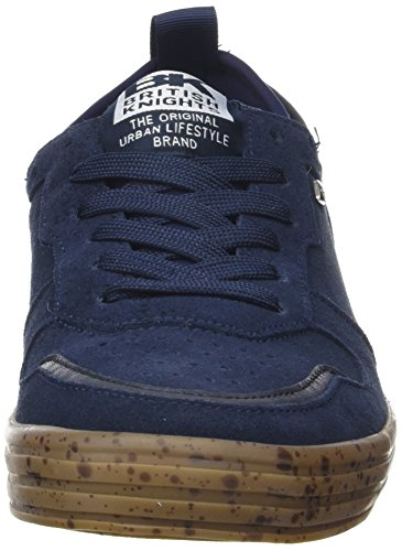 British Knights Foster, Baskets Basses Homme Bleu (Navy/Crêpe)