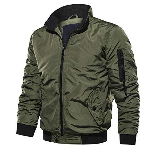 Bazhahei uomo top,giacca volante giacca invernale da uomo cool giacca militare giacca tattica leggera e traspirante abbigliamento materiale super resistente per creare un caldo inverno