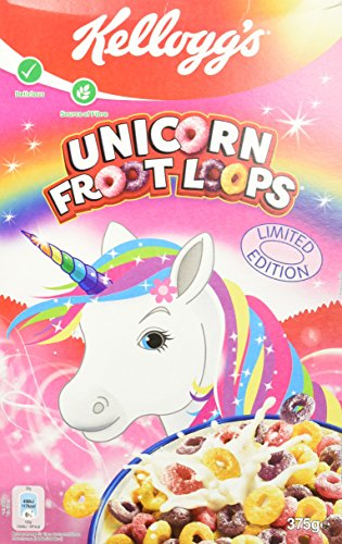 Kellogg's Froot Loops Unicorn, 6er Pack (6 x 375 g)