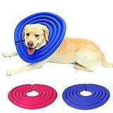 sosunny bequem Schutz Recovery Haustier-bissfest anti-licking Hund Katze Halsband, sich Bathing Beauty Cover