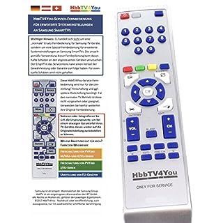 HbbTV4You Service-Fernbedienung zur Freischaltung von PVR und Timeshift bei Samsung Smart TV der NU-Serien NU74 und NU75