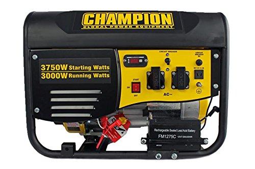 Champion wwcpg4000e1de EU 3500W Gasolina Generador