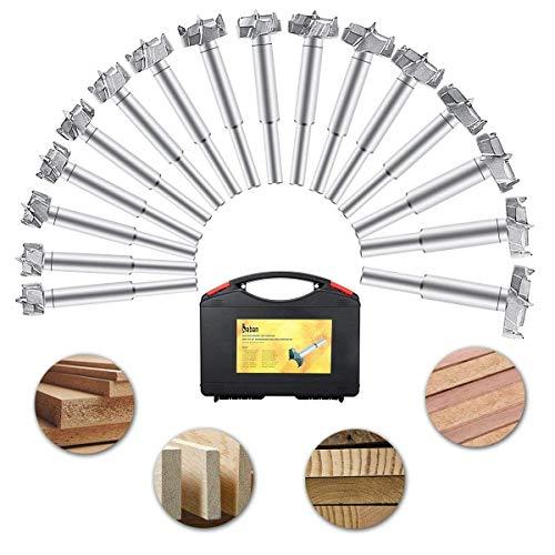 Baban 16pcs Brocas Forstner Set 15-35mm Broca fresadora