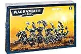 Games Workshop 251.765.061.653cm Warhammer 101.600cm Ork Boyz Action Figure