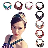 DRESHOW Women's Headbands Headwraps Hair Bands Bows Accessories (Style H)