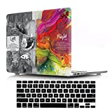 DIGIC MacBook Retina 13' Case with Keyboard Cover, Hard Plastic Cover Case with Keyboard Protector for MacBook Retina Display PRO 13.3 inch (A1502/A1425),Technology Brain