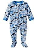 Schiesser Baby-Jungen Anzug mit Fuß Zweiteiliger Schlafanzug, Grau (Grau-Mel. 202), 56 (Herstellergröße: 056)