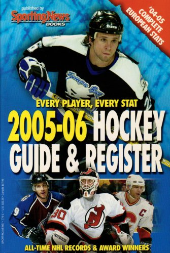 Hockey Guide & Register 2005-2006 (Hockey Register and Guide) por Sporting News