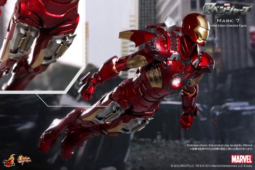 Movie-Masterpiece-The-Avengers-16-Scale-Figure-Iron-Man-Mark-7-japan-import