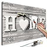murando - Malen Nach Zahlen Home 60x40cm Malset DIY n-A-0308-d-a