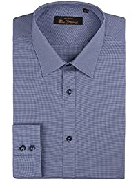 Ben Sherman Navy Micro Shirt 0051313 by Suit Direct