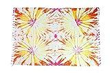Sarong Pareo Wickelrock Strandtuch Tuch Schal Wickelkleid Strandkleid Blickdicht Miami Beach - Buntes Batik Muster
