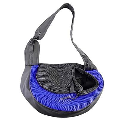 ASOCEA Portable Pet Dog Cat Puppy Carrier Outdoor Sling Carrier Bag Single Shoulder Bag for Small Dog 1