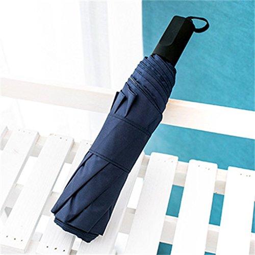 Regenschirm Regenschirm Falten Sonne und Regen Dual-use Sonnenschirm Sonnenschirm Sonnencreme Ultraleicht Kleine UV ( Farbe : #7 )