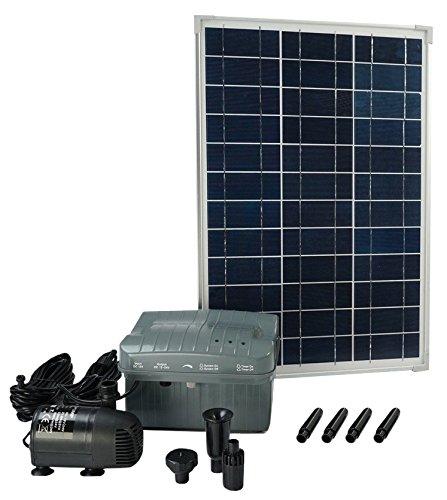 Las bombas de agua no están siempre cerca de enchufes, pero ya no debe preocuparse de este asunto con este set de Ubbink, ya que el mismo se puede emplear sin conectarlo a la red eléctrica. ¡El SolarMax es fácil de instalar y mantener, y además es id...