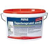 PUFAS Tapetengrund, weiß 10 Liter