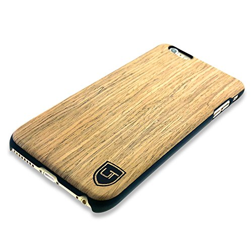 iPhone 6 Plus / 6s Plus Holzhülle Cover ** Eco Echt Holz - Ultra-Slim ** Einzigartiges Desgin ** Perfekte Passgenauigkeit ** Woodcase by UTECTION® in Abachiholz (Iphone 4 Body Armor Hybrid Case)