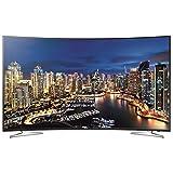 Samsung UE55HU7100 139 cm (55 Zoll) Curved LED-Backlight-Fernseher, EEK A (Ultra HD, 800Hz CMR, DVB-T/C/S2, CI+, WLAN, Smart TV, HbbTV ) schwarz/silber