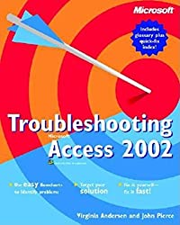 Troubleshooting Microsoft Access 2002