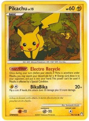 Pikachu - Diamond & Pearl Mysterious Treasures - - - 94 [Toy] | économique Et Pratique  3afec5