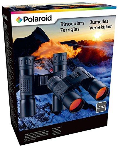 Fernglas 10x32 Polaroid Tragetasche gummiert klappbar beschichtet Feldstecher - Polaroid 32