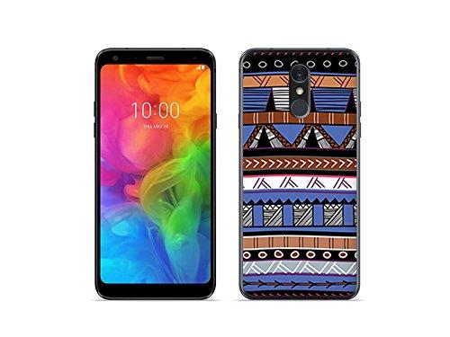 etuo LG Q7 - Hülle Fantastic Case - Ethnische Muster - Handyhülle Schutzhülle Etui Case Cover Tasche für Handy