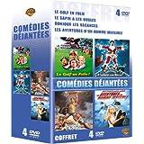 Coffret Comédies déjantées 4 DVD : Le Golf en folie / Le Sapin a les boules / Bonjour les vacances / Les Aventures d'un homme invisible