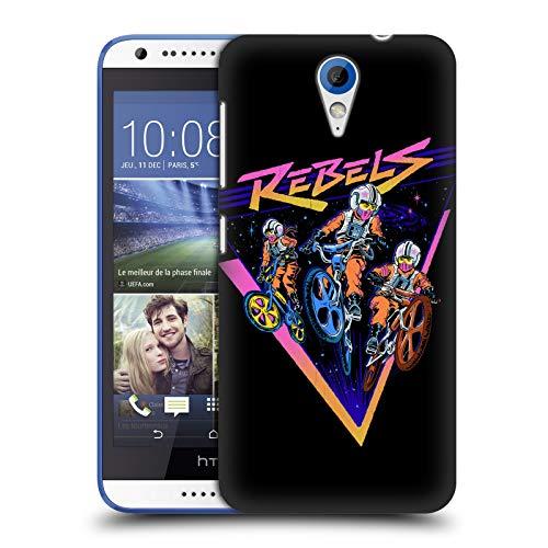 Offizielle Steven Rhodes BMX Rebellen Retro Ruckseite Hülle für HTC Desire 620/620 Dual SIM