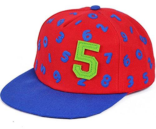 belsen Enfant Digital 5Hip Hop Casquette de baseball Casquette Chapeau Rote