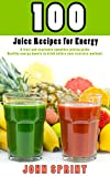 """100 super-healthy, energy-boosting, juice recipes used by power lifters and Olympic athletes.Calorie information included with each recipe.""""Great recipes to juice before you work out."""" - Todd Romero (Gym Owner)"""