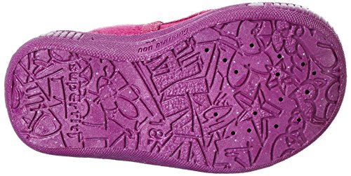 Superfit  BULLY, Chaussons fille Rose - Pink (DAHLIA 73)