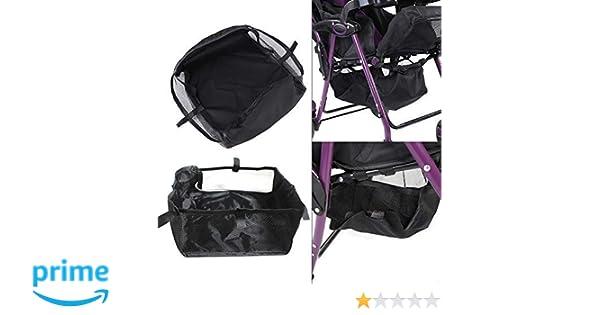 1 St/ück Kinderwagen Aufsteckbare Organisatoren Kinderwagen Kinderwagen Unterkorb Kinderwagen Buggy Shopping Aufbewahrungskoffer Organizer Tasche