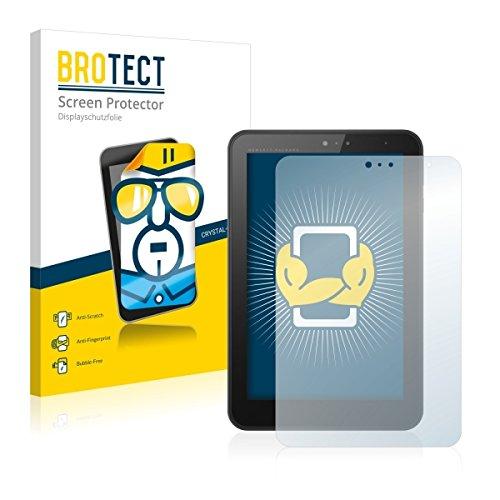 2X BROTECT HD Clear Bildschirmschutz Schutzfolie für HP Pro Tablet 408 G1 (kristallklar, extrem Kratzfest, schmutzabweisend)