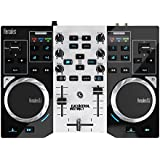 Hercules DJ Control Instinct S Series Party Pack (versione nuova, controller DJ a 2 piani, Soundkarte integrato, LED Party Light USB, DJUCED 18 °, PC / Mac)