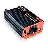 Ective Reiner Sinus-Spannungswandler 12V auf 230V 600W/1200W Wechselrichter (Inverter) by Ective Energy