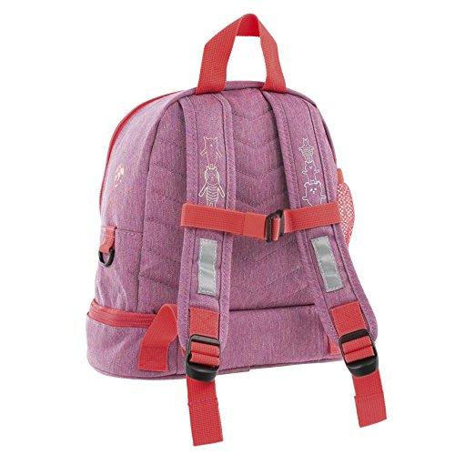 Achat Lässig Mini Backpack About Friends mélange Pink Sac à Dos Enfants, 27 cm, Rose (Pink)