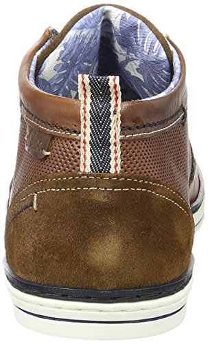 S.oliver 15102, Chaussures Pour Hommes Brown (cognac / Navy 380)