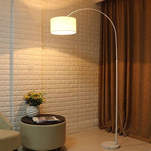 & Stehlampen Moderne Angeln Gear Bogen Stehleuchte Marmor Basis LED Stehleuchte, mit Fernbedienung, einstellbare Lichtfarbe. Piano Licht (Farbe : B-7w)